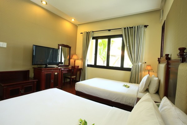 tropical hội an hotel villa 2 bed