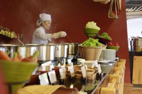 buffet nhà hàng deliland vinwonder phú quốc