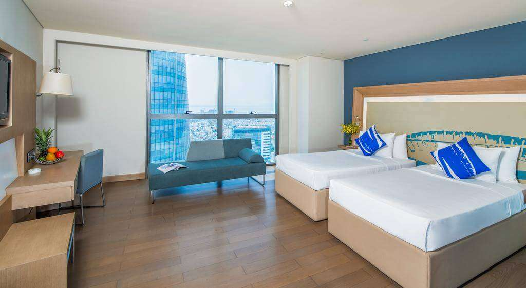 phòng deluxe 2 giường novotel